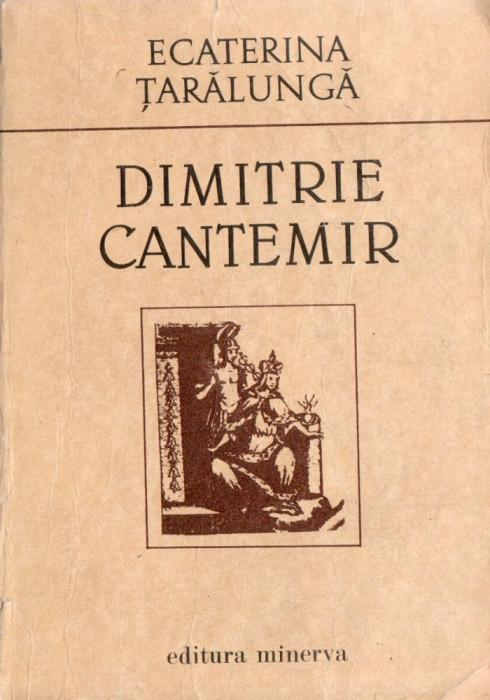 DIMITRIE CANTEMIR – ECATERINA ȚARĂLUNGĂ