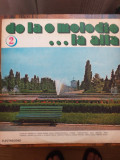 De la o melodie la alta  5 LP vinil