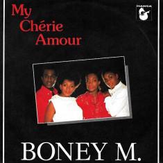 """Boney M. - My cherie amour / Sample City (1985, Hansa) Disc vinil single 7"""""""