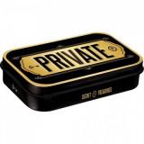 Cutie metalica cu bomboane - Private XL