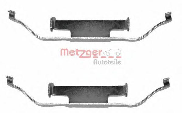 Set accesorii, placute frana BMW Seria 3 Touring (E91) (2005 - 2012) METZGER 109-1097