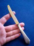 Cutit cu maner de argint 800 Austria, Tacamuri