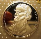 10.003 GERMANIA RFG PHILIPP MELANCHTHON 10 DEUTSCHE MARK 1997 G PROOF ARGINT, Europa