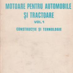 Dan Abaitancei : Motoare pentru automobile și tractoare ( Vol. I  )