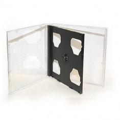 Set 5 Carcase CD-uri/DVD-uri duble tip jewel case