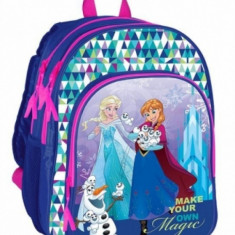 Rucsac 2 compartimente Frozen Make your own magic Herlitz