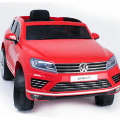 Masinuta electrica Volkswagen Touareg, rosu