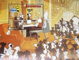REDONDA-DESENE ANIMATE-1 colita neobliterata** WD 160, Animatii