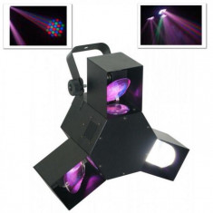 Beamz Efect de lumină Beamz LED Triple Flex LED Disco DMX,8 canale