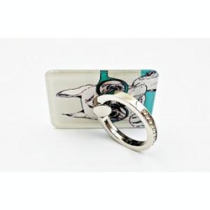 Suport telefon Diamonds tip inel metalic model Dog