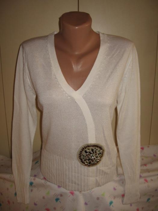 Bluza alba Jones Mar 40