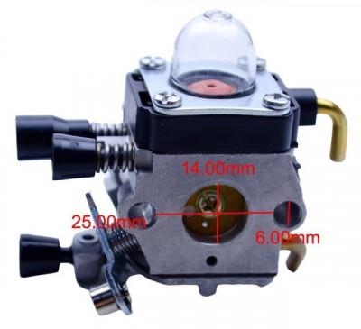 Carburator motocoasa Stihl FS55, FS75, FS80, FS85, FC75, FC85, HL75, HT70,... foto