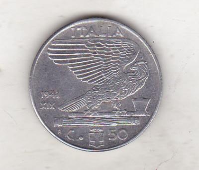 bnk mnd italia 50 centesimi 1941 foto