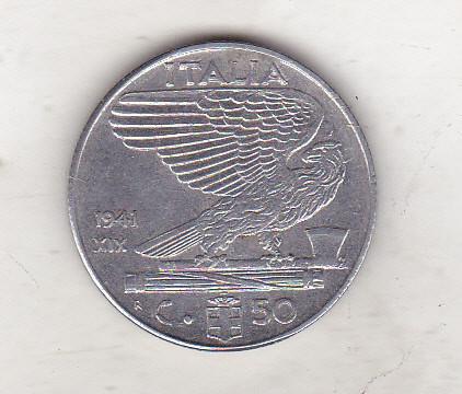 bnk mnd italia 50 centesimi 1941