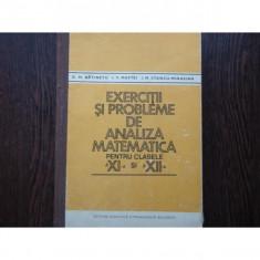 EXERCITII SI PROBLEME DE ANALIZA MATEMATICA - D.M. BATINETU