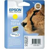 Epson C13T07144011 (T0714) cartus cerneala galben 5.5ml