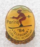 Insigna sport - Cupa IGCL Petrosani - Telescaun 1984 - Paring