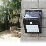 Aplica solara 20 LED-uri SMD, 4W, senzor miscare, 1200mAh, raza 3 m, IP64