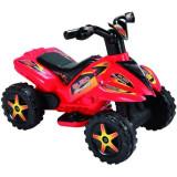 Quad copii cu pedala acceleratie rosu, Piccolino