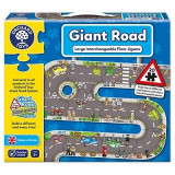 Cumpara ieftin Puzzle gigant de podea traseu masini (20 piese) GIANT ROAD JIGSAW