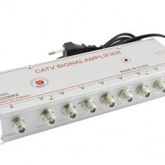 Amplificator antena TV, CATV, 8 iesiri, 1020MK8 - 110799