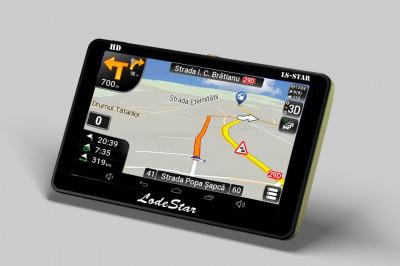"""Navigatie GPS 7""""HD NOI LodeStar LS-PILOT TIR/camion/TAXI/Autoturism, Full Europa foto"""