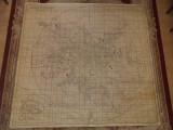 MUNINCIPIUL BUCURESTI, PLAN SCHEMA 1973/ HARTA SECRET DE SERVICIU