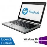 Laptop Refurbished Hp EliteBook 2570p, Intel Core i5-3210M 2.50GHz, 4GB DDR3, 320 GB SATA, DVD-RW, 12.5 Inch + Windows 10 Pro