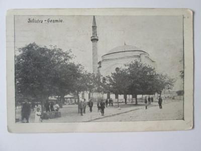 Carte postala Silistra/Dârstor-Moscheia,,Bairaclă Djami'' circulata 1913 foto