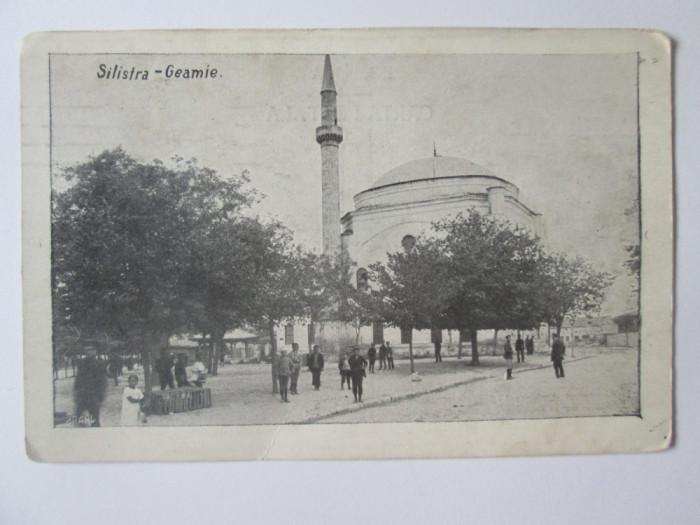 Carte postala Silistra/Dârstor-Moscheia,,Bairaclă Djami'' circulata 1913