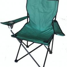 Scaun camping pescuit pliant LZ-A6011 52x52x85cm verde Raki