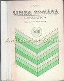 Cumpara ieftin Limba Romana. Gramatica Clasa a VIII-a - Ion Popescu