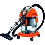 Aspirator cu filtrare prin apă Samus Aquafilter Orange, 1550 W, Umed/uscat, 15 L, Funcție suflare aer, Perie pentru aspirare lichide, Filtru HEPA, Por
