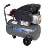 Compresor aer Stager 24 Litri – 2 CP – 8 Bar – HM2024F