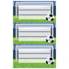 Etichete scolare, Herlitz, fotbal, set 3x3 coli
