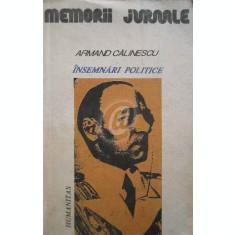 Insemnari politice (1916 - 1939)