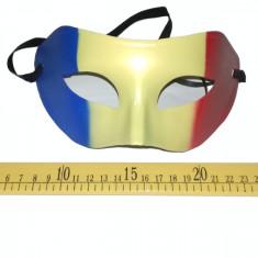 Masca carnaval model tricolor, universala