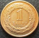 Moneda 1 ZLOT / ZLOTY - POLONIA, anul 1995  *cod 3796 = A.UNC