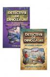Cumpara ieftin Pachet Detectivii de dinozauri 1, Curtea Veche