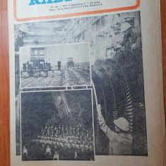 revista radio-tv saptamana 5-11 iunie 1977