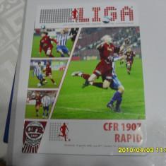 program      CFR  Cluj   -  Rapid