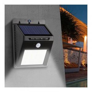 Lampa cu incarcare solara, 20 x LED, 1200 mAh, senzor miscare