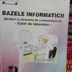 Bazele informaticii – caiet de laborator – Cornelia Ivasc