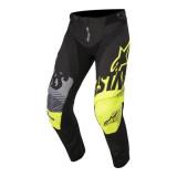 Pantaloni cross enduro ALPINESTARS MX YOUTH RACER SCREAMER culoare negru fluorescent gri galben marime 26
