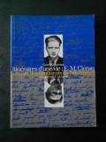 GABRIEL LIICEANU - INTINERAIRES D`UNE VIE: E. M. CIORAN (limba franceza)