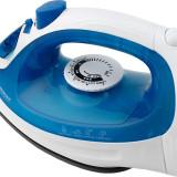 Fier de calcat cu abur 2200W, antiaderent, functie auto clean, Esperanza, albastru
