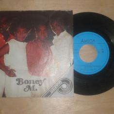 "Boney M - Quartett (4 melodii, 1986, Amiga) Disc vinil single 7"""