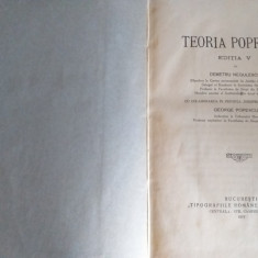 Teoria poprirei - Negulescu