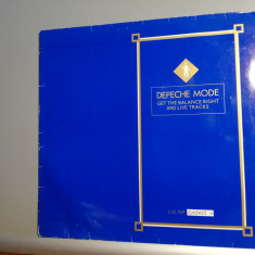 Depeche Mode – Get The Balance.... – Maxi Single (1983/Mute/RFG) - Vinil/NM