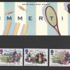 Great Britain 1994 The Four Seasons - set of 5 in official pres. pack, MNH S.441